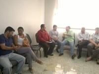 No dia 08 de Maio de 2014, o Senhor Presidente Vereador André Batista participou de Reunião com o Deputado Bernardo Santana em Unaí.