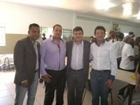 No dia 29 de maio de 2014, o Presidente da Câmara, Vereador André Batista, o Vice –Presidente Vereador irmão Valdete, juntamente com o Professor Eldson, estiveram em Paracatu.