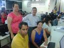 Servidores da Câmara de Cabeceira Grande, participam de Oficina do Interlegis em Unaí