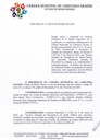 Suspensão das Reuniões Ordinárias e Expediente Administrativo