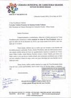 Vice-Presidente da Câmara renuncia ao cargo