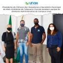 Visita Diretoria Administrativa UFMG de Unaí