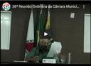 38ª Reunião Ordinária da Câmara Municipal de Cabeceira Grande (MG) - 07/12/2020.